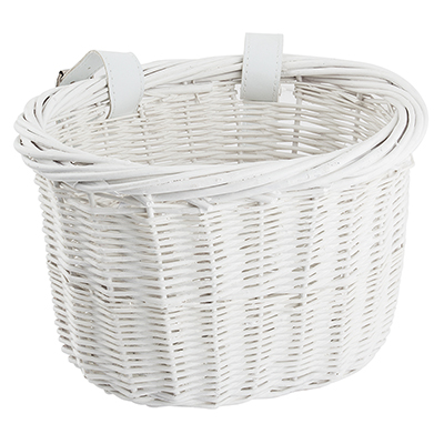 Sunlite Mini Willow Bushel Basket Blue